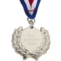 Diamond Bling Medal with Ribbon</br>AM1100.02